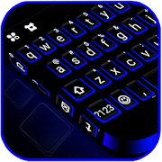 Download Blue Black Keyboard Theme 1.0 Apk for android