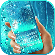 Download Blue Glass Water Keyboard Theme 1.0 Apk for android