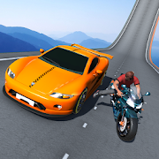 Download Car vs. Heavy Bike Racing 1.5 Apk for android