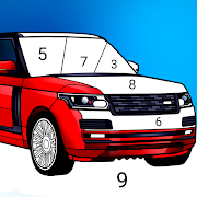 Download Cars Color by Number – Cars Coloring Book 3.1.0 Apk for android