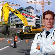 Download City Hospital Building Construction Building Games 1.3.0 Apk for android