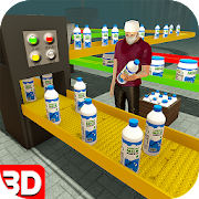 Download Cow farm milk factory farming dairy farm games 1.8.0 Apk for android