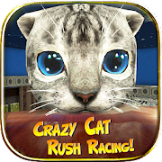 Download Crazy Cat Rush Racing Run Kitty Craft 1.0.2 Apk for android