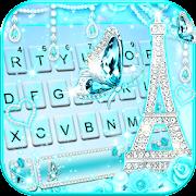 diamond paris butterfly keyboard theme 5.3 apk