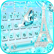 Download Diamond Paris Butterfly Keyboard Theme 5.3 Apk for android