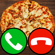 Download fake call pizza game 2 5.0 Apk for android