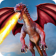 Download Flying Dragon Battle Simulator : City Attack 1.6.0 Apk for android