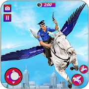 flying horse police chase : us police horse games 3.1.0 apk