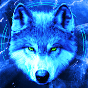 Download Ice Wallpaper and Keyboard - Lone Wolf 4.12 Apk for android