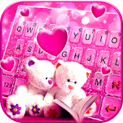 Download Lovely Teddy Keyboard Theme 4.0.B Apk for android