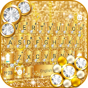Download Luxury Gold Keyboard Theme 3.0 Apk for android