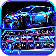 Download Racing Sports Car Keyboard Theme 5.3 Apk for android