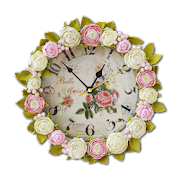 Download Shabby Chic Clocks Live Wallpaper Apk for android