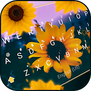 Download Sunflower Keyboard Theme 3.0 Apk for android