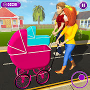 Download Virtual Mother New Baby Twins Family Simulator 2.1.9 Apk for android
