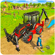 Download Virtual Village Excavator Construction Simulator 4.4 and up Apk for android