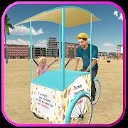 beach ice cream man free delivery simulator games 1.6 apk