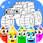 Download Coloring book: Transport 1.3.0 Apk for android