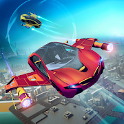 Download Futuristic Flying Car Racer 1.5 Apk for android