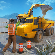 heavy crane excavator construction transport 1.6 apk