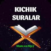 Download Qur'ondan Kichik Suralar (matn va mp3) 2 Apk for android