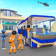 transport stickman prisoner bus driving 1.08 apk